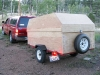 DIY Homemade Cargo Trailer
