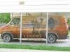 John Wayne Mural Van Winterset, IA