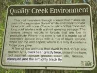 Quality Creek Falls Wildlife