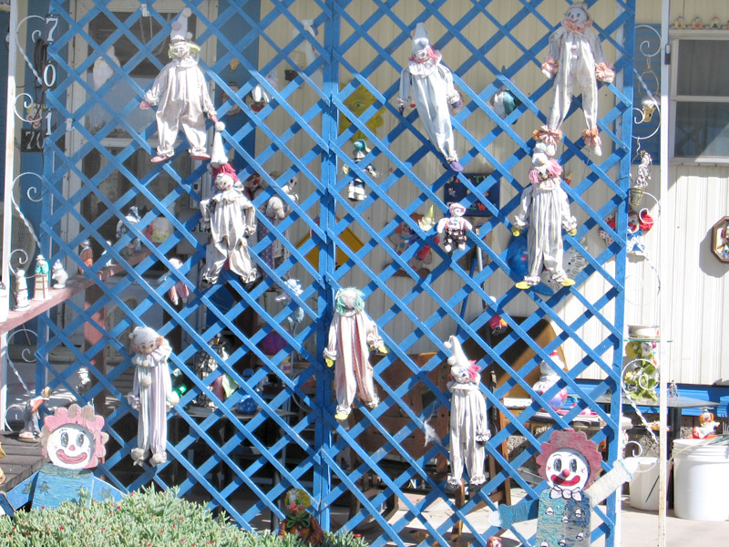 Creepy Clown House in Truth or Consequences, NM
