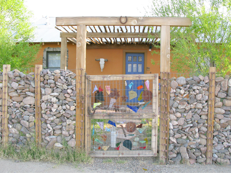 Funky Gate for a Clever Fence in T or C, NM