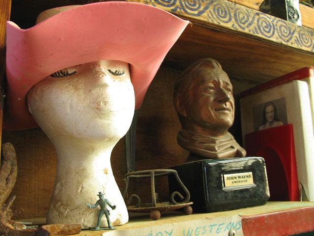 Cowboy Westerns at Slab City Library