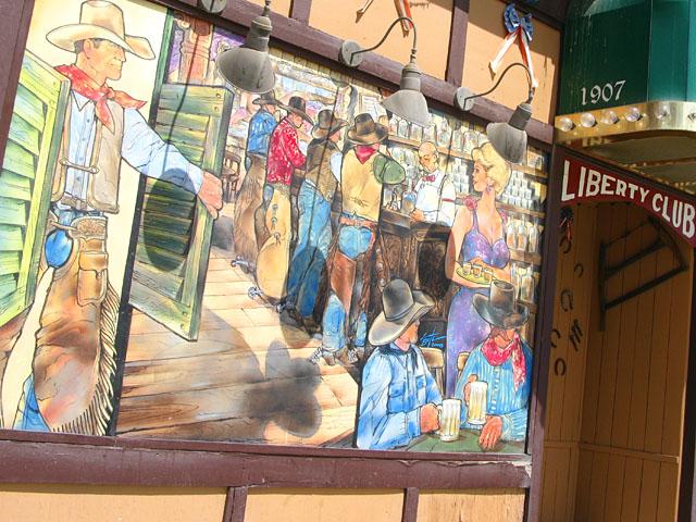 Ely Nevada Saloon Mural