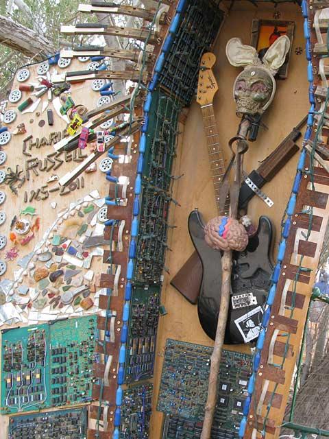 Slab City East Jesus Container Charley Shrine