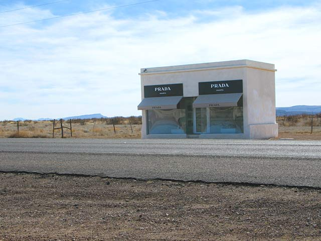 Prada Marfa Texas Art Installation Highway 90