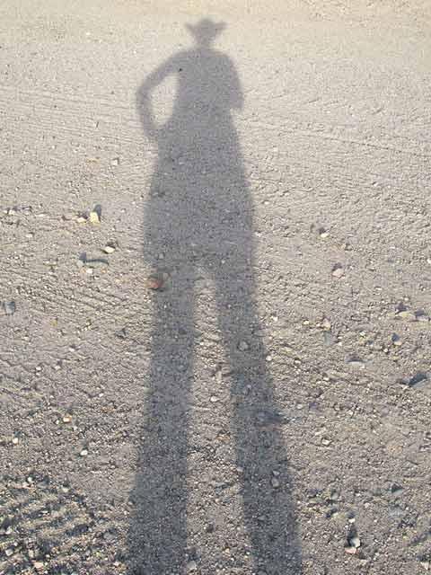 Slab City Rat Cowgirl Shadow