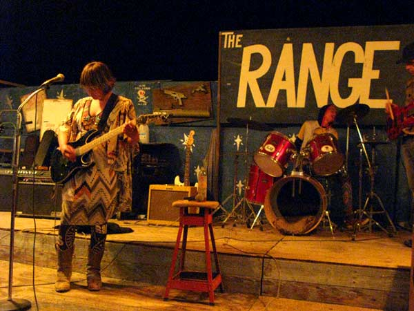 Live Music at The Range, Slab City