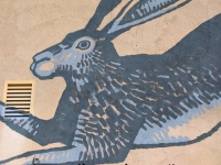 Marathon Texas Art Gallery Mural