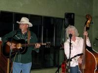The Whitfords perform at Lajitas, TX Maverick RV Resort
