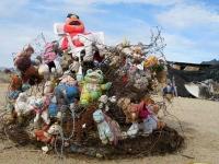 Slab City Trash Art