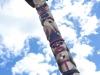 Yukon First Nation Totem Pole Carving, Whitehorse YT