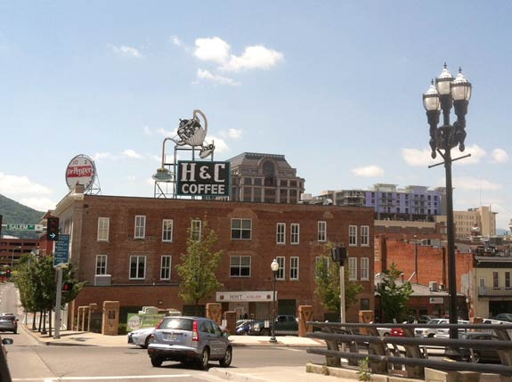 Dr Pepper, H&C Coffe Signs Roanoake Virginia