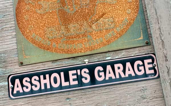 Hyder Alaska Garage