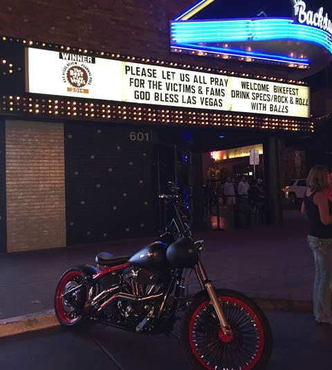 Las Vegas, downtown, El Cortez, Fremont St., #VegasStrong