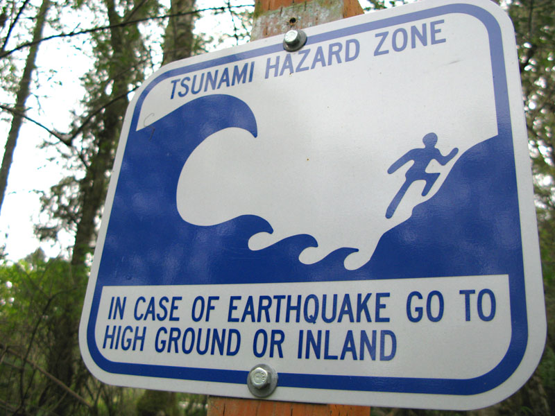 tsunami warning cape disappointment wa