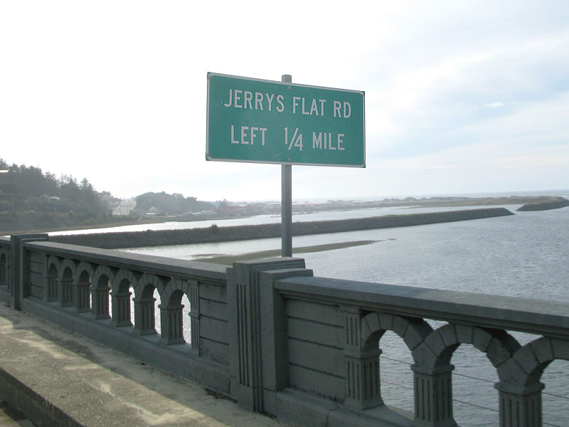 jerry's flats Road Gold beach Oregon