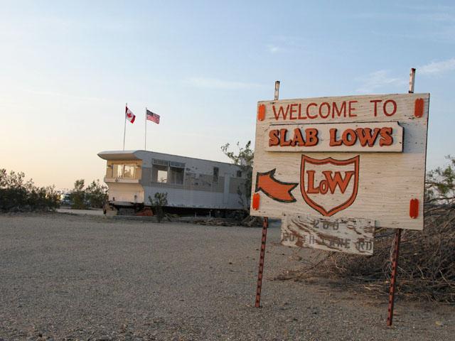Slab Lows Camp on the Slabs near Niland, CA