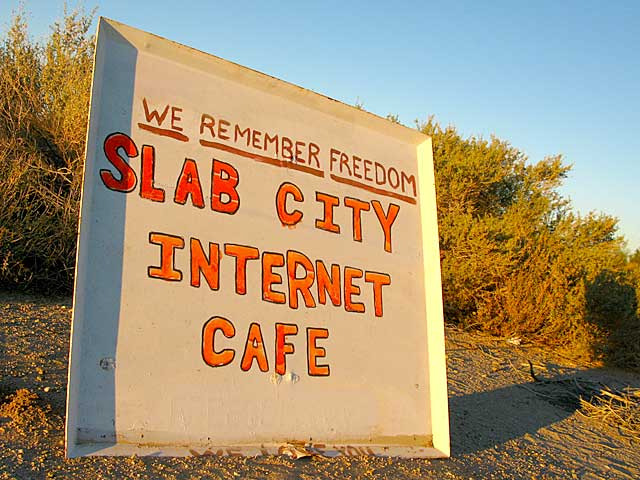 Slab City Internet Cafe Public Wifi