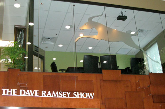 Dave Ramsey, show, live, broadcast, Nashville, offices