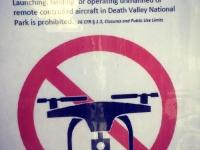 No Drone Zone, Death Valley CA