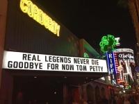 Petty Tribute on Freemont Street, Vegas October 2017