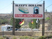RV Park and smoke shop? Only in T or C, NM.