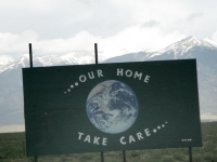Take care of Mother Earth, our home in the Rockies