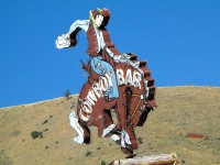 Cowboy Bar in Jackson Wyoming