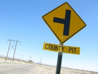 County Pit  near Slab City Niland, CA