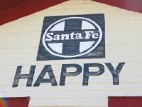 Happy Train Station Tulia Texas