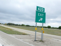 Get Off At Exit 420