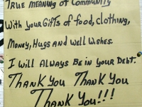 Slab City Community Thank You