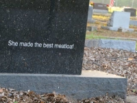 Best Meatloaf Epitaph New Braunfels, TCX Cemetery