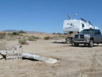 Slab City Free Boondocking Site Occupied