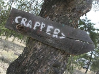Crappers at Jackson Park, Pietown NM