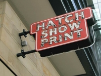 Hatch Show Print Nashville, TN