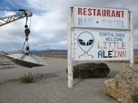 UFO Towing at Little Ale'inn Rachel, NV