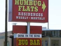 Humbug Flats Drink on the Brink at the Bug Bar