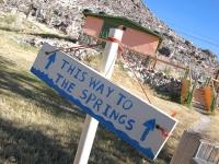Bailey's Hot Springs Beatty, Nevada