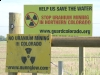 Weld County Colorado No Uranium Mining Signs