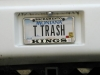 Escapees Trailer Trash License Plate