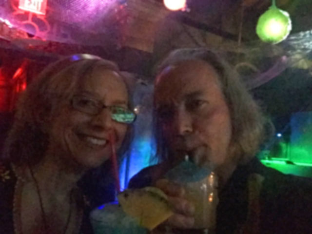 Boat Drink Drunkards at the Golden Tiki, Las Vegas NV