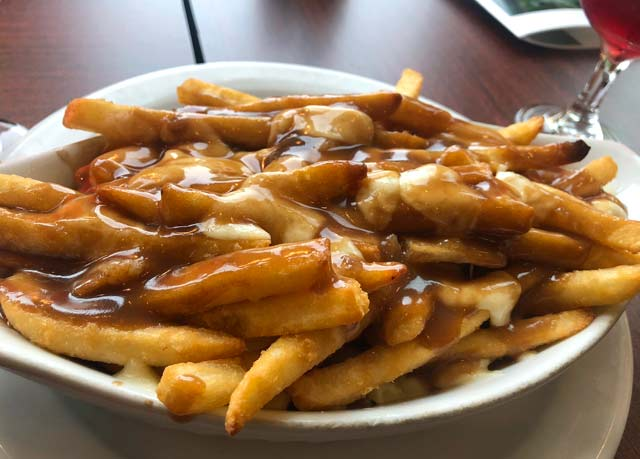 Poutine - Cheese Curds and Gravy, Tumbler Ridge Golf Course