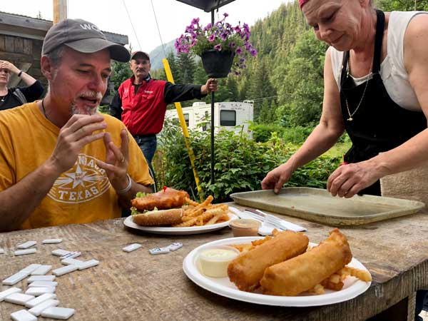Alaska and Canadian Food on the Alcan