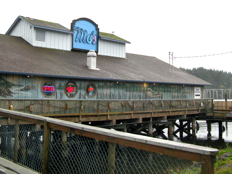 Mo's Clam Chowder Restaurant Florence Oregon