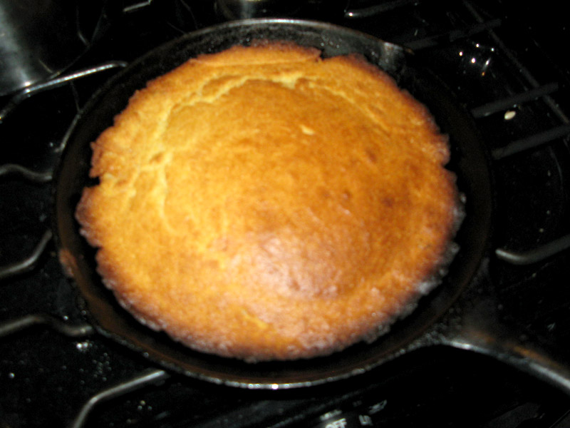 Skillet Cornbread Recipe for RV Ovens