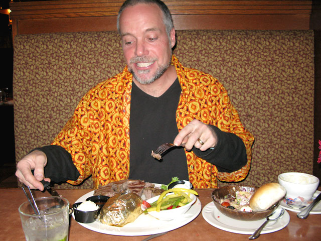 Silverado Casino Fernley, NV Prime Rib Birthday Dinner
