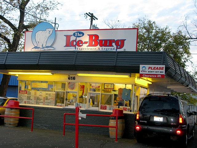 The Best Burger is at Ice Burg in Walla Walla, WA
