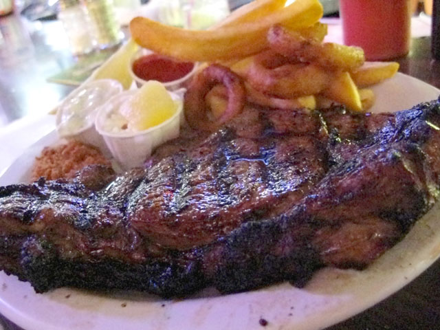 Surf and Turf at AA Bar and Grill Eureka CA