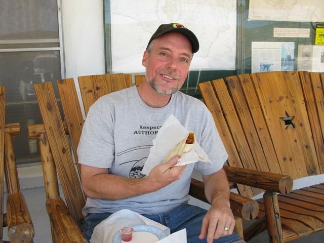 Nan's Burritos at Stillwell Ranch